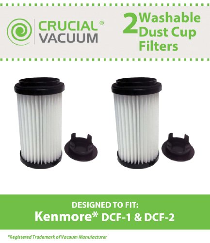 2 Kenmore DCF-1 DCF-2 Washable…