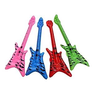 STOBOK - 12 Piezas de Guitarra Hinchable para niños, para ...