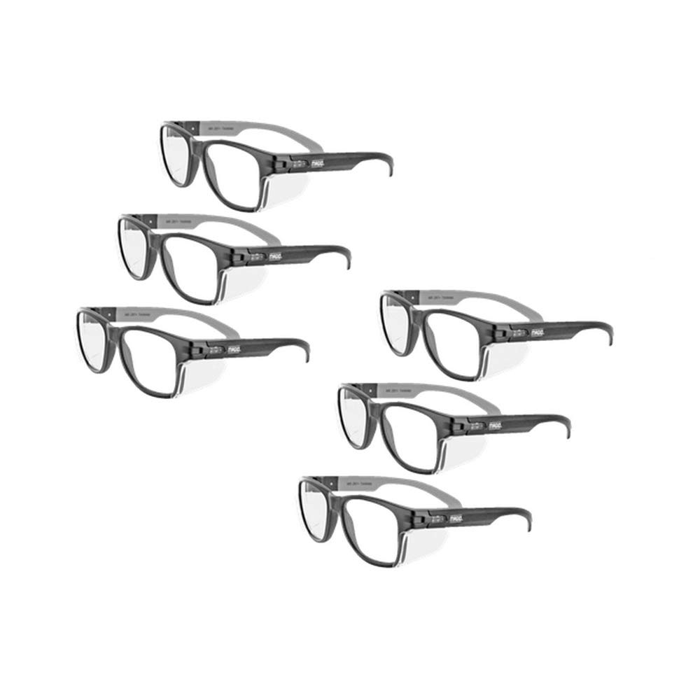 MAGID Y50BKAFC Safety Glasses with Side Protection