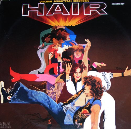 hair soundtrack cd covers