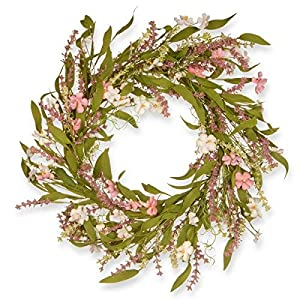 National Tree 22 Inches Spring Wreath