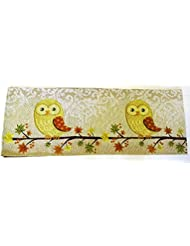Perfect Harvest Fall Autumn Tapestry 13 X 68 Owl Table Runner