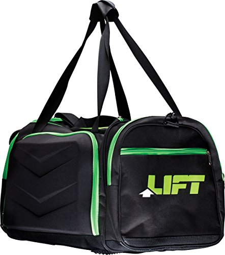 Lift Industrial Safety Gear Ase 14K Black Fabric Shuttle Bag  One Size