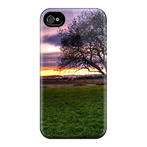 Awesome Case Cover/iphone 4/4s Defender Case Cover(beautiful Sunset On Town)
