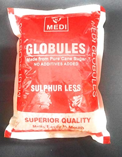 MEDIPLASTICS Homoeopathic Globules Size25 Blank Pallets Plain Pills (450 g) Price & Reviews