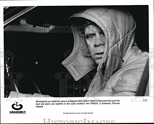 1996 Press Photo William Macy in Fargo - - Macys Careers