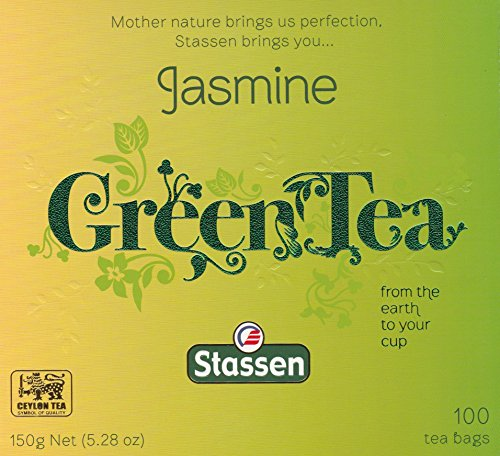 Pure Jasmine Green Tea, 100 Tea Bags