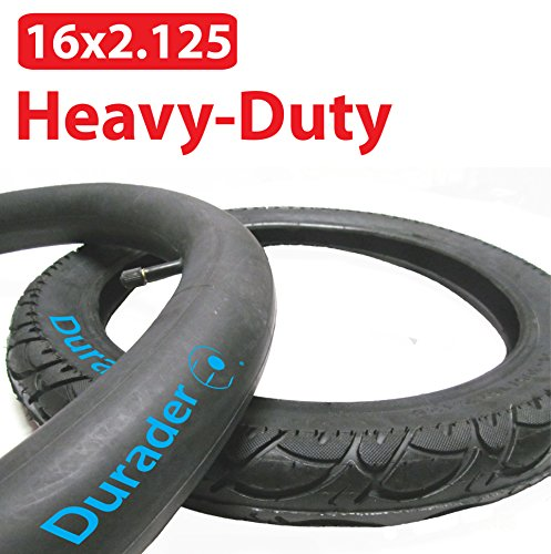 16x2 125 Inner Tube Amp Tire Set For Bike Electric Bike