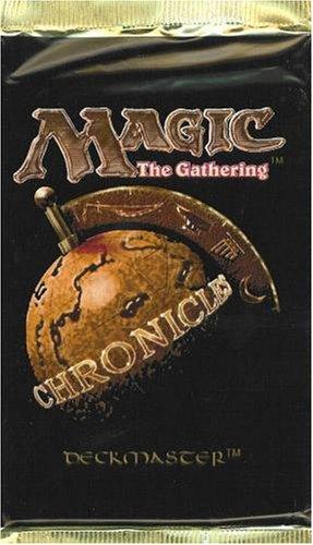 Magic Mtg Magic Chronicles Factory sealed Booster Pack X 3 ! kaartspellen