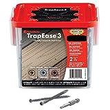 TrapEase 3 Deck Screw 2-1/2' (350) Screws (Pebble Gray/Foggy Wharf)