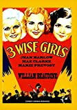 3 Wise Girls (1932) DVD Jean Harlow, Comedy Full Screen