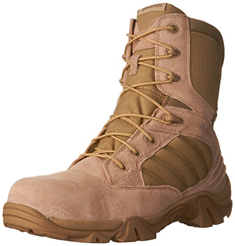 Bates Men's GX-8 8 Inch Ultra-Lites Zip Uniform Work Boot, Desert, 10.5 M US