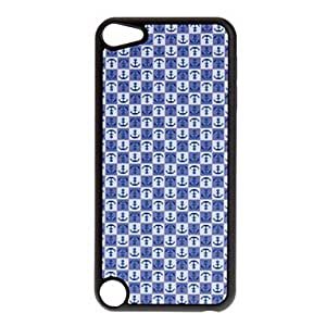 Topforcity Shimmering Lovely Anchors Pattern Hard Case for Apple iPod Touch 5th + Screen Protector