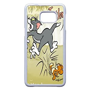 Cartoon Tom and Jerry for Samsung Galaxy S6 Edge Plus Phone Case Cover 66TY430092