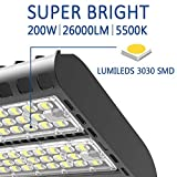 LEDMO LED Parking Lot Light 200W - Waterproof IP65