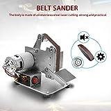 Mini Electric Belt Sander,KKmoon Multifunctional