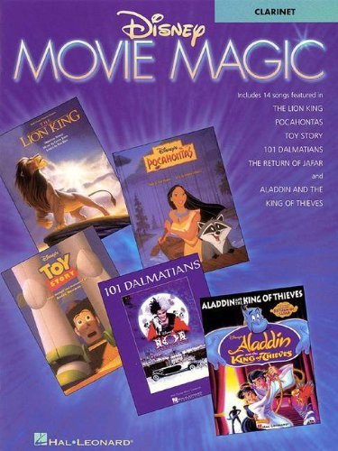 Disney Movie Magic Instrumental Solo Clarinet by Baron Turner Jessica (2-Oct-1997) Paperback (Disney Solos For Clarinet)