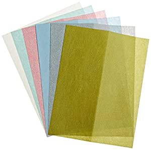 Zona. 37-948 3M Wet/Dry Polishing Paper, 8-1/2-Inch X 11-Inch, Assortment Pack One Each 1, 2, 3, 9, 15, and 30 Micron (Limited Edition)