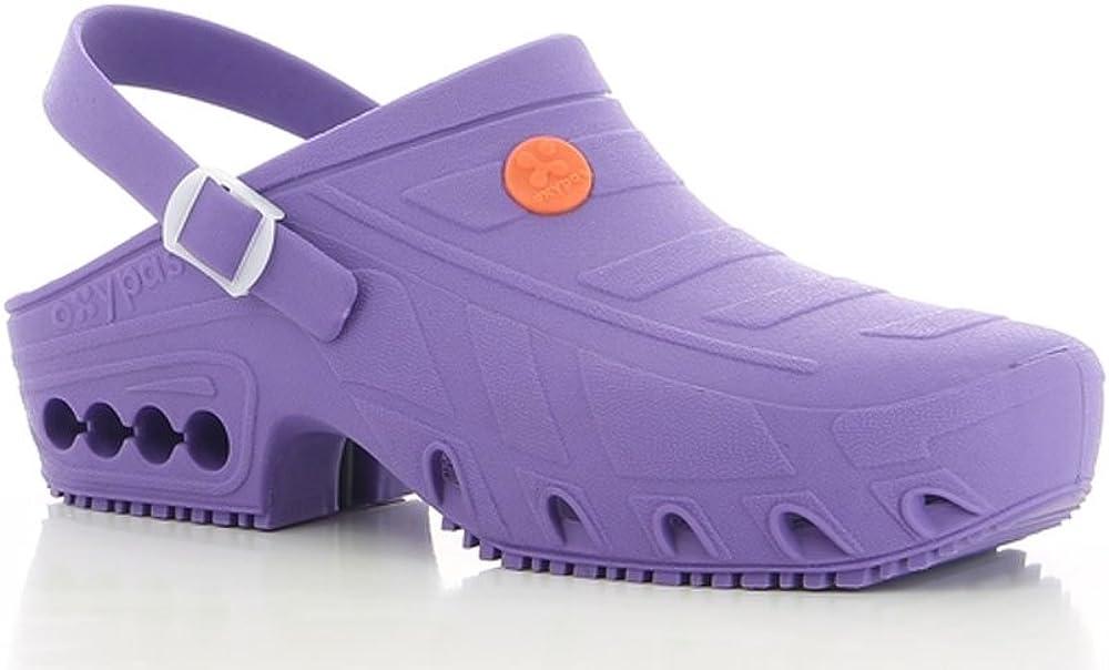 Anti-slip Nursing Shoes Autoclavable Oxypas OXYCLOG Washable Theatre Clogs for Clean Environments