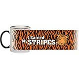 I Earned My Stripes! Tiger Ceramic Mug! Ideal gift for anyone who loves Tigers. by Mileymoo