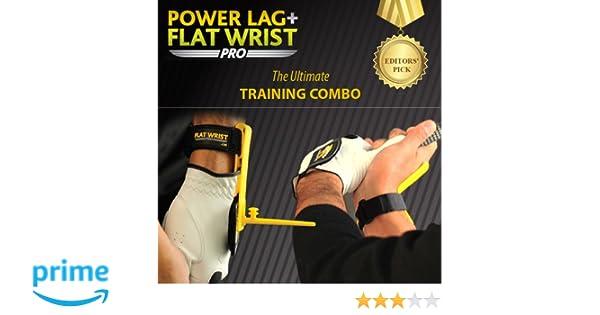 GolfJOC Power Lag Pro Plus Flat Wrist Pro Trainer