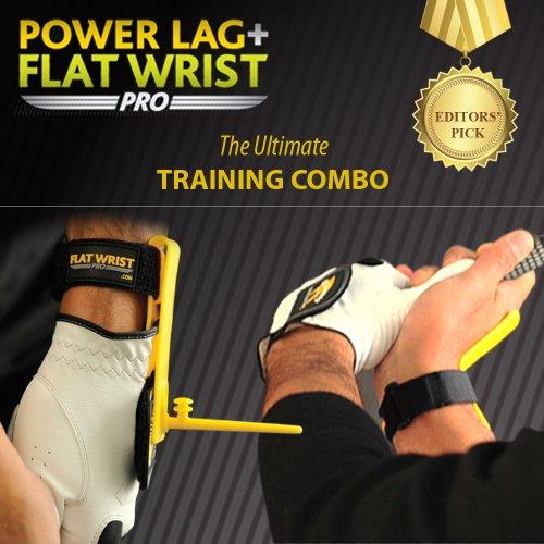 GolfJOC Power Lag Pro + Flat Wrist Pro Trainer