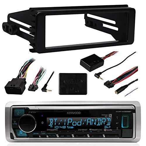98-2013 Marine Harley Touring Stereo Radio Install Adapter Dash Kit Flht Flhx Flhtc - Marine Metra