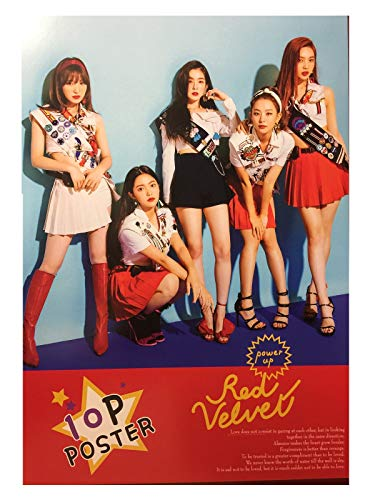(Cookiepretty1971 K-POP Red Velvet Photo Poster (10 Pieces) (RED)