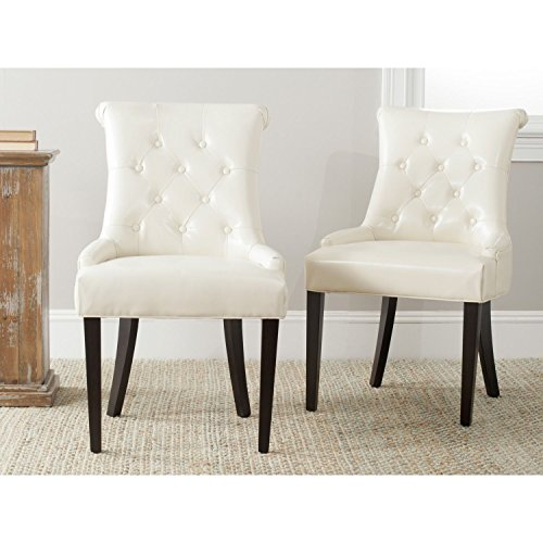 Metro Side Chair 2 Chairs (Metro Shop Safavieh Bowie Cream Side Chairs (Set of 2))