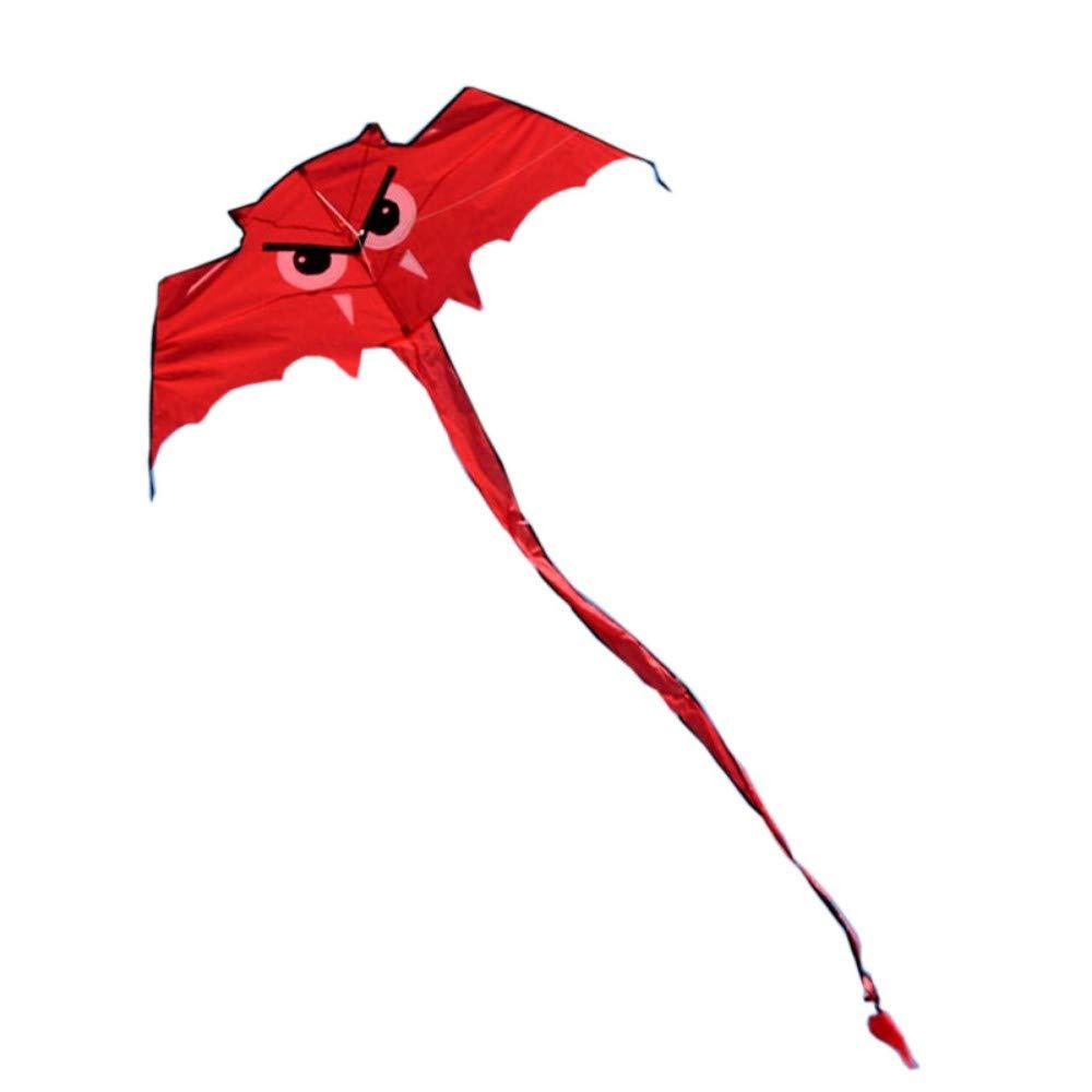 YPKHHH Nouveau Haute qualité Bat cerf-Volant/Hibou Cerfs-Volants contrôle Facile avec poignée Ligne Enfants cerf-Volant Vente chaîne Outdoor ToysSpecification150 * 55 CM Longueur de la Queue 2,4 m