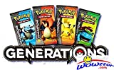 #8: 36x POKEMON TCG English GENERATIONS Factory Sealed Booster Packs = Booster Box! 100% Clean and Guaranteed Unsearched English Packs! Straight from Factory Sealed Mythical Collection Boxes!