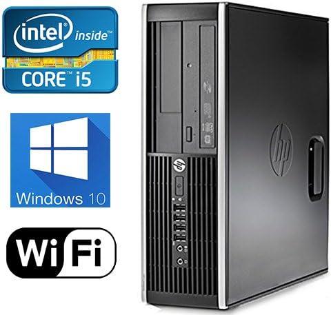 HP 8300 4K Gaming Computer Intel Quad Core i5 upto 3.6GHz, 8GB, 1TB HD, Nvidia GT710 2GB Windows 10 Pro, WiFi, USB 3.0 Renewed