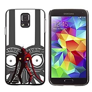 SKCASE Center / Funda Carcasa - Tribal Red Devil;;;;;;;; - Samsung Galaxy S5