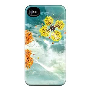 Iphone 4/4s Hard Case With Awesome Look - VdbtRMr4283GlqaJ