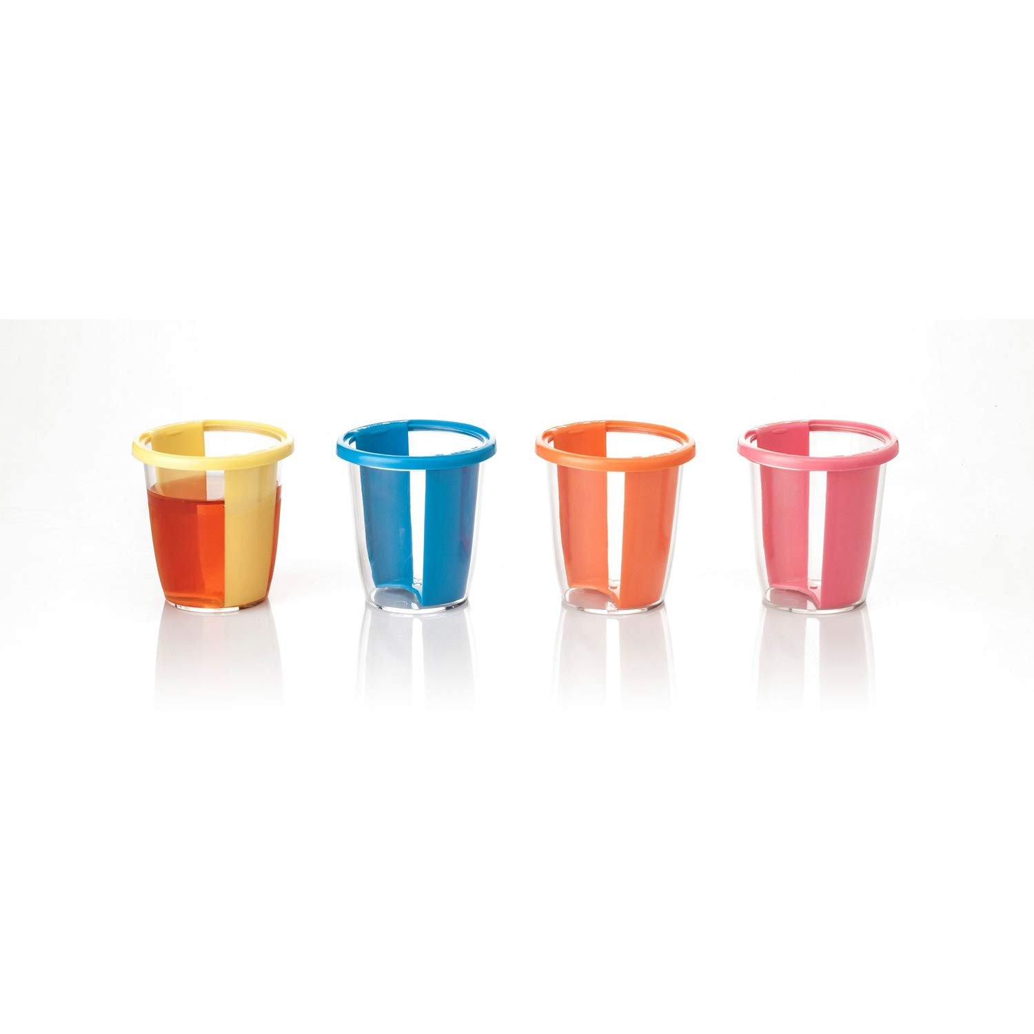Innovative Living 24 Pack Multi Color, Easy Access, Reusable Jelly Shot Cups by Innovative Living