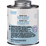 Oatey 30893 PVC Rain-R-Shine Cement, Blue, 16-Ounce