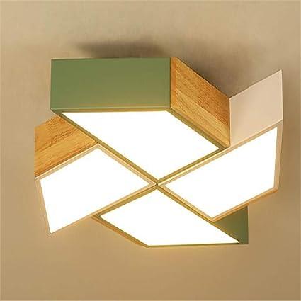 Luz de Techo Lámparas de Techo Dormitorio Lámpara Simple ...