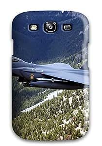 Irene R. Maestas's Shop Best Hot Design Premium Tpu Case Cover Galaxy S3 Protection Case(us Military Plane Over Hills) 7618678K43169975