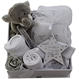 Baby gift basket baby gift hamper unisex neutral packed twinkle keepsake box baby shower gift new baby gift boy girl