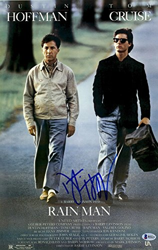 Rainman Poster - Dustin Hoffman Autographed 12