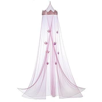 Betthimmel Queen, Mosquito Bett Baldachin Für Mädchen, Tüll Pink Prinzessin  Bett Baldachin