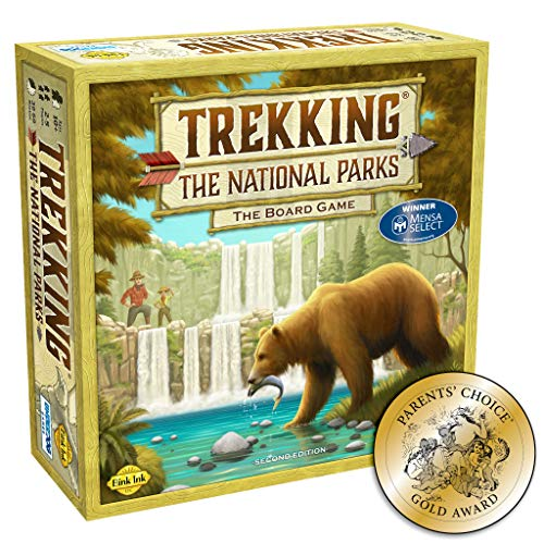 Trekking The National Parks: The Family Board Game (Second Edition) (Games For Couples To Play In Bed)