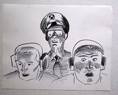 TOYS 1992 MOVIE ORIGINAL CONCEPT/STORYBOARD ART CARL ALDANA ROBIN WILLIAMS GEN.