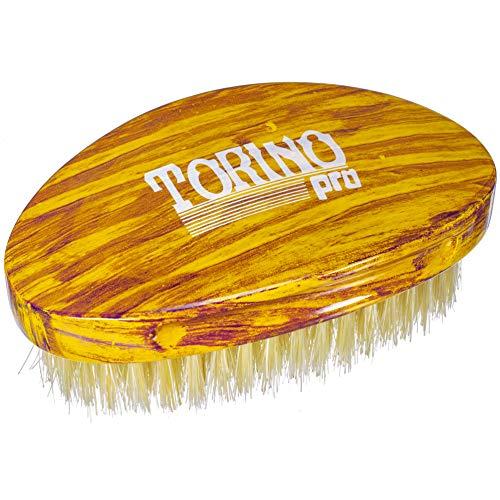 Torino Pro Wave Brushes By Brush King #18- Medium Curve Palm Brush- For 360 -