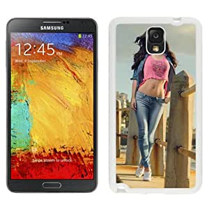 New Beautiful Custom Designed Cover Case For Samsung Galaxy Note 3 N900A N900V N900P N900T With Tall Beauty (2) Phone Case