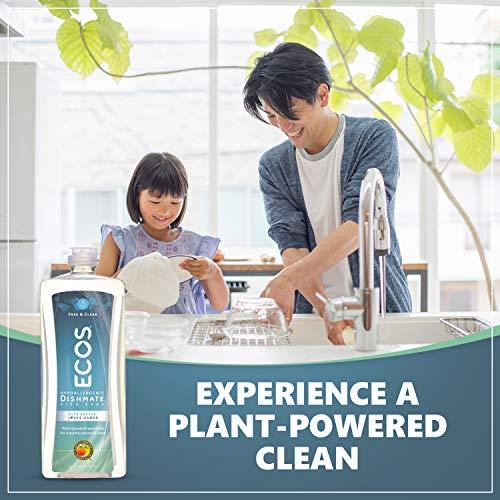 ارخص مكان يبيع ECOS Dishmate Dish Liquid, Free and Clear 25 oz. (Pack of 2)