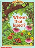 Where's That Insect?, Barbara Brenner, 0590452118