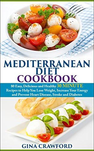 Mediterranean Diet Cookbook by Gina Crawford ebook deal