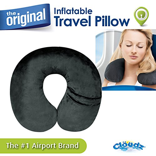 Cloudz Inflatable Pillow with Mp3 Pocket and Removable/Washable - O Mp3 Air