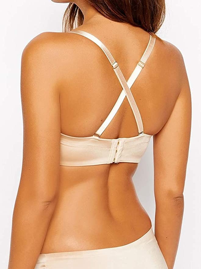 Ultimo OMG Miracle Strapless Bra Nude US32F at Amazon Women s Clothing  store  727a6d5dc